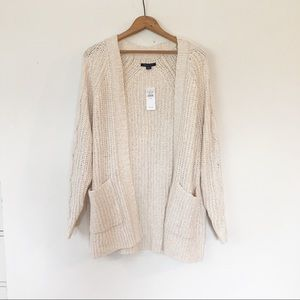 AMERICAN EAGLE | Oversized Boyfriend Soft Cardigan